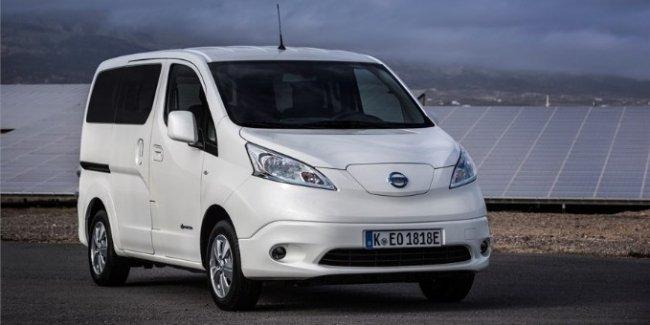 Обновленный фургон Nissan e-NV200 с нулевым уровнем выбросов вредных веществ теперь проезжает на 60% больше