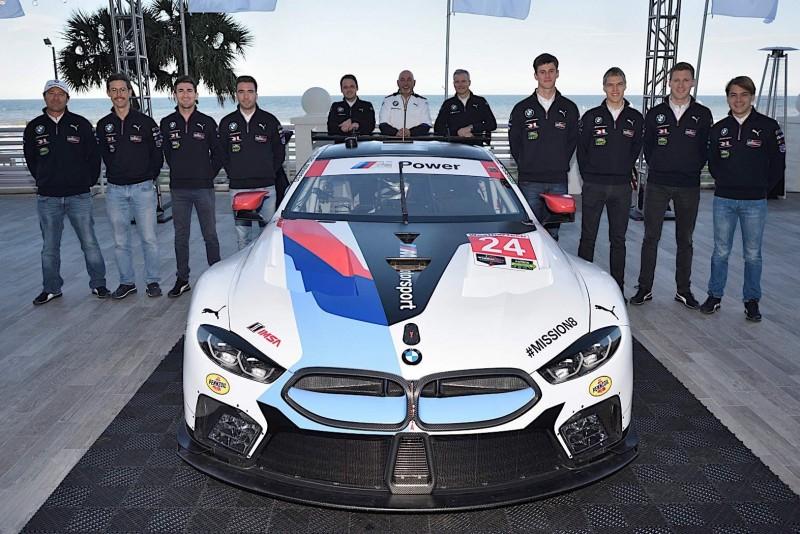 Новая BMW M8 GTE дебютирует в Дайтоне