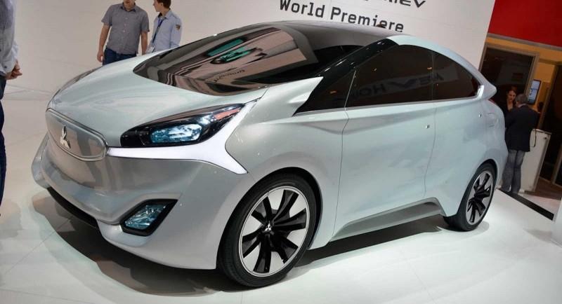 Mitsubishi: автомобили без зеркал придут в 2019 году