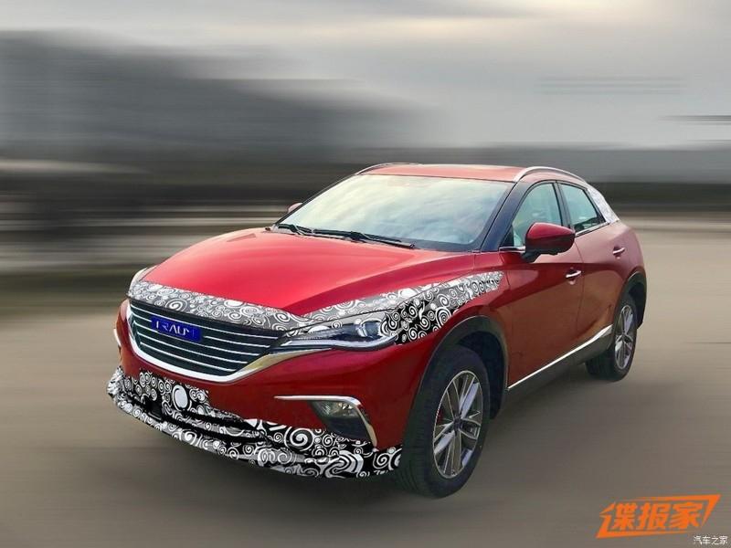 Очередной китайский клон повторил дизайн Mazda CX-4
