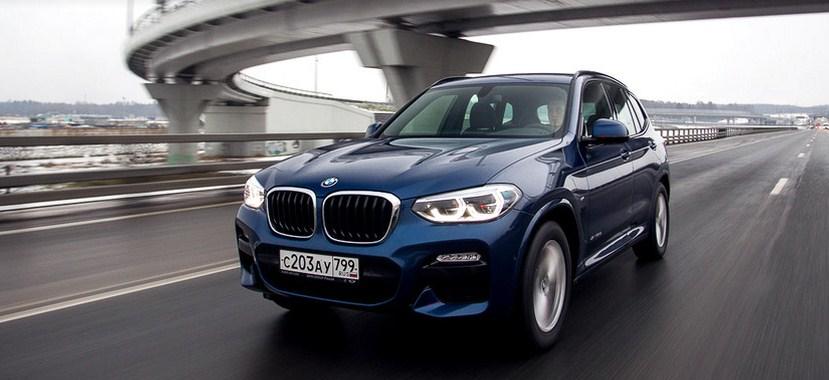 Тест-драйв BMW X3 xDrive20d