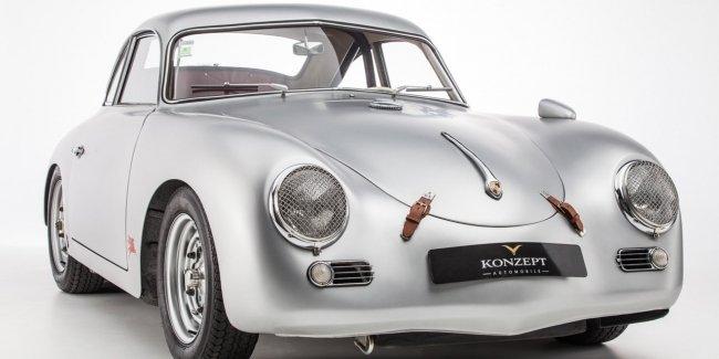 Старый Porsche превратили в стильный трековый спорткар