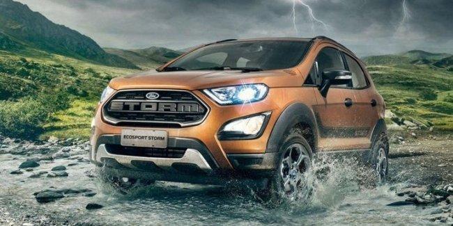 Ford представил «экстремальный внедорожник» EcoSport Storm