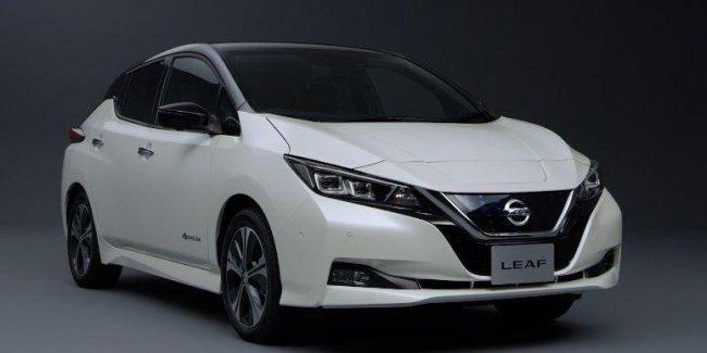 Nissan Leaf — «Лучший электромобиль» 2018 года