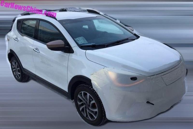 Внедорожник VW для Китая просочился в патентных изображениях