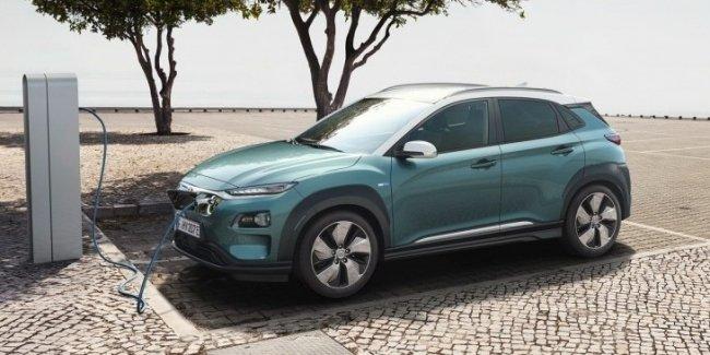 Первый в Европе: Hyundai представил электрокроссовер Kona Electric
