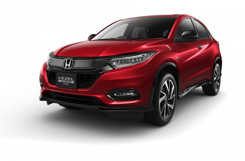 2019 Honda Vezel, известная как HR-V, обновилась в Японии