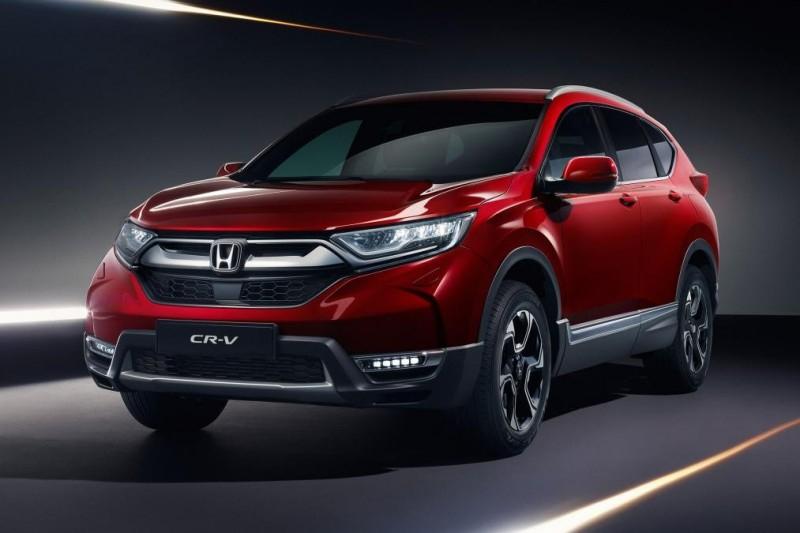 2018 Honda CR-V показали в европейской спецификации