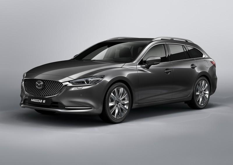 2018 Mazda6 Touring готовится к Женевскому дебюту