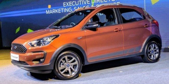Ford Freestyle: новый маленький «кроссовер» для Индии