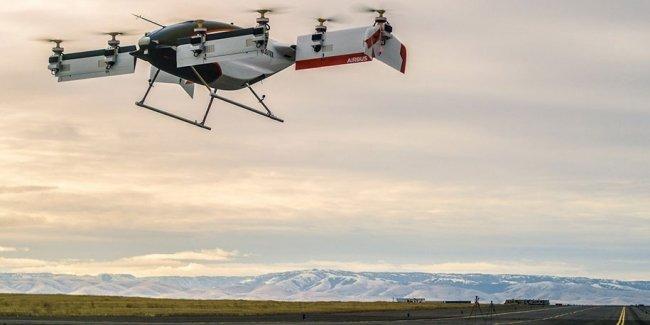 Airbus провел первые успешные тесты летающего такси