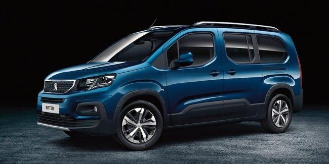 Компания Peugeot сменила фургон Partner на Rifter