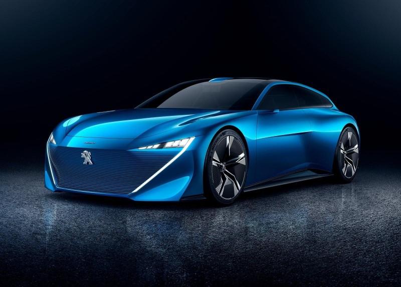 Новый Peugeot 508 приедет в Женеве с новым дизайном и технологиями