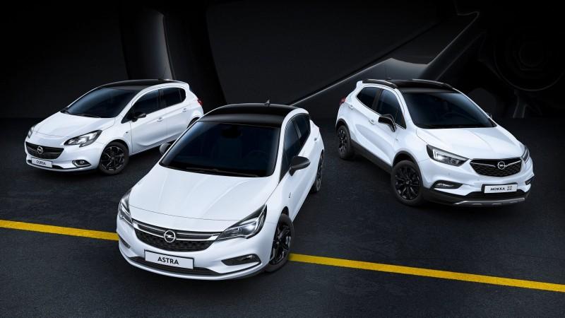 Opel предложил специальные выпуски Corsa, Astra и Mokka X