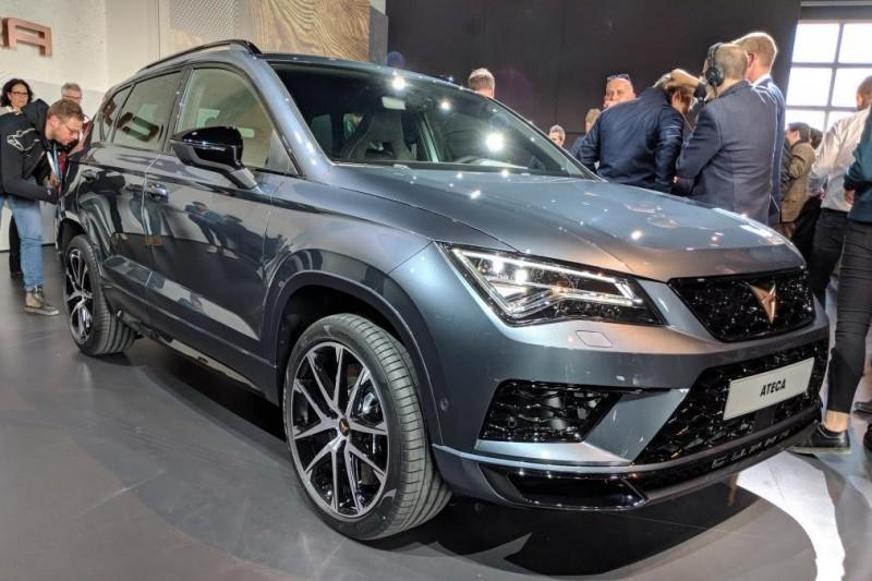 Cupra Ateca стала первым автомобилем нового суб-бренда