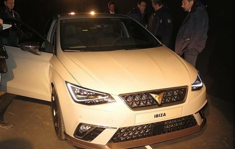 Новый Seat Ibiza Cupra просочился перед дебютом в Женеве
