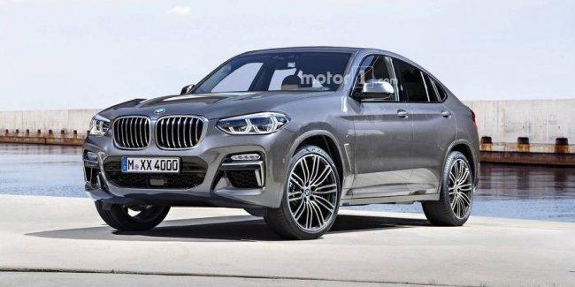 Таким может быть BMW X4 нового поколения