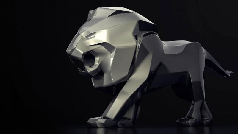 Peugeot везет в Женеву 5-метровую скульптуру льва