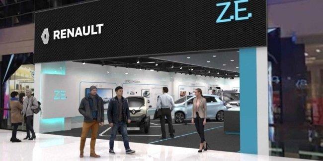 Renault откроет в Швеции первый магазин с электрокарами