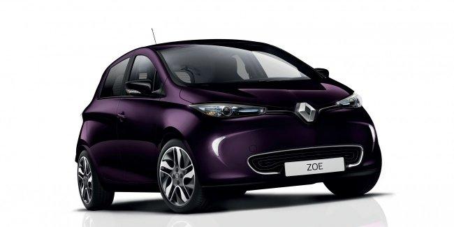 На Renault ZOE будет устанавливаться более мощный электродвигатель