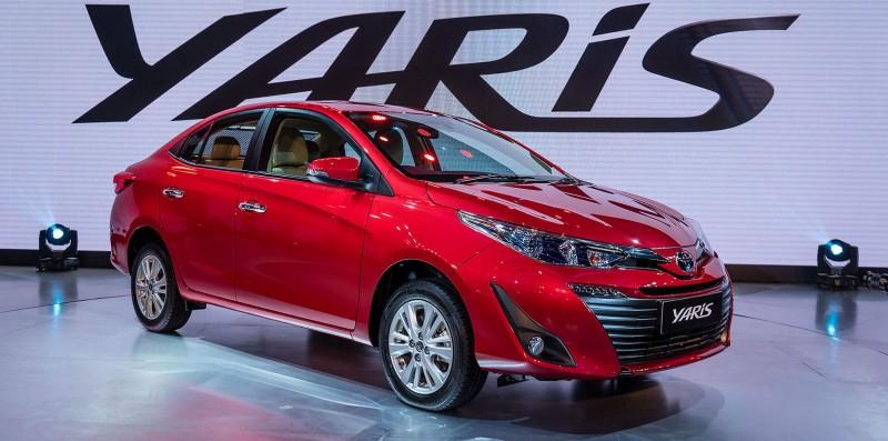 Новый седан 2018 Toyota Yaris дебютировал в Нью-Дели