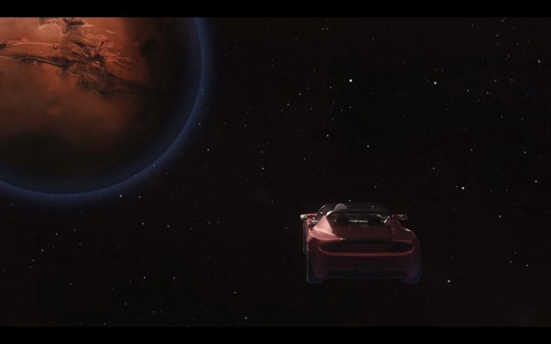 Сегодня Илон Маск запустит в космос Tesla Roadster