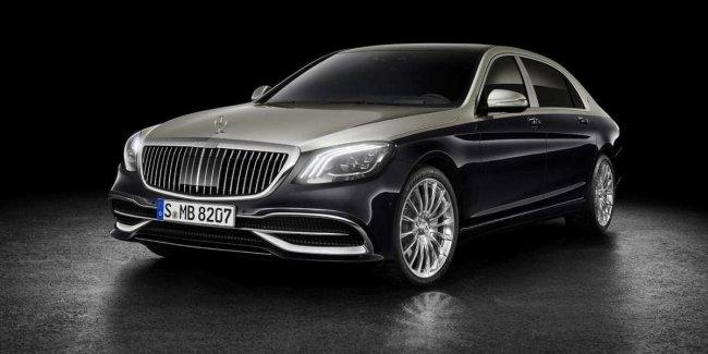 Новый Mercedes-Maybach 2018 полностью рассекречен