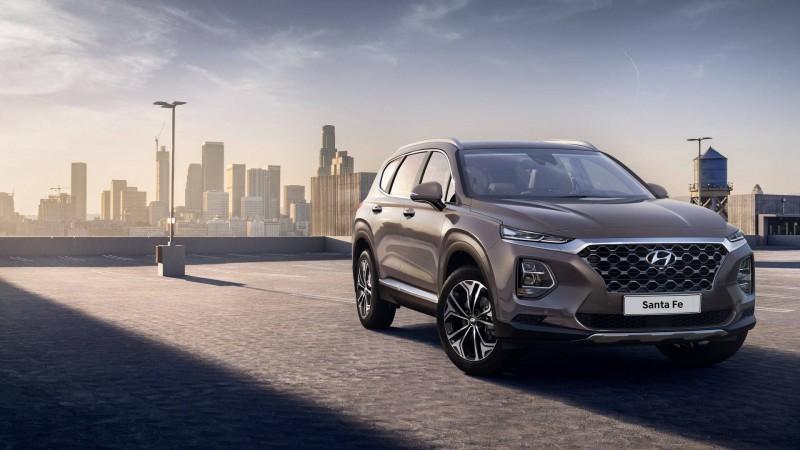 Новый 2019 Hyundai Santa Fe раскрыл свои секреты