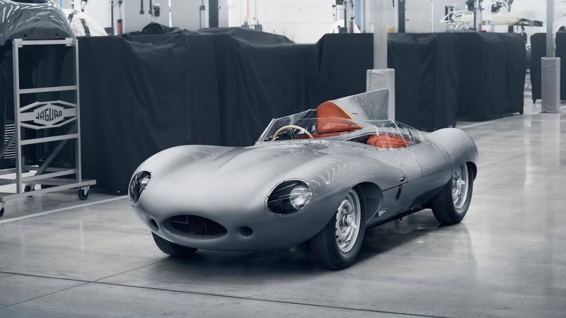 Оригинальный Jaguar D-Type возвращается в производство через 62 года