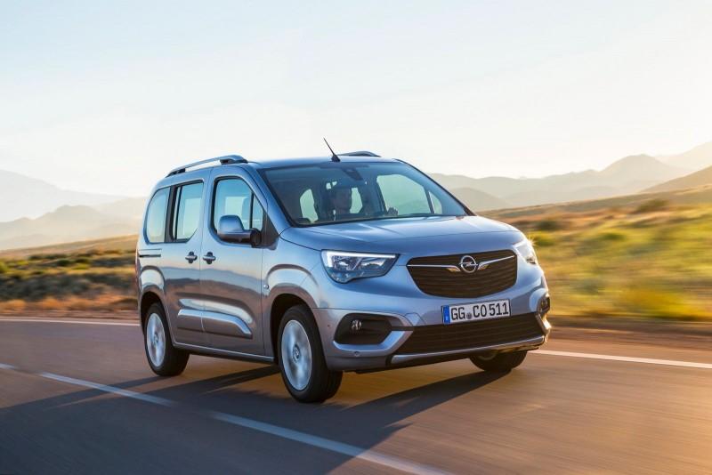 2019 Opel/Vauxhall Combo Life дебютирует с новым стилем и технологией
