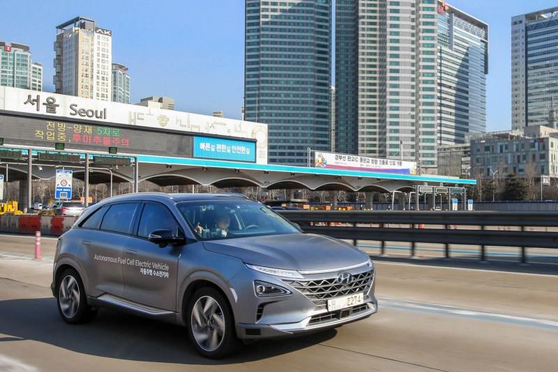 Hyundai установил рекорд в автономном вождении автомобиля