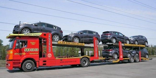 Импорт автомобилей в Украину в 2017 году вырос почти вдвое