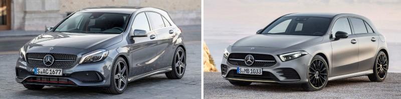 Чем новый Mercedes A-Class отличается от модели предыдущей