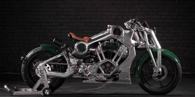 Мотоцикл Warhawk от Curtiss за 105 000 долларов