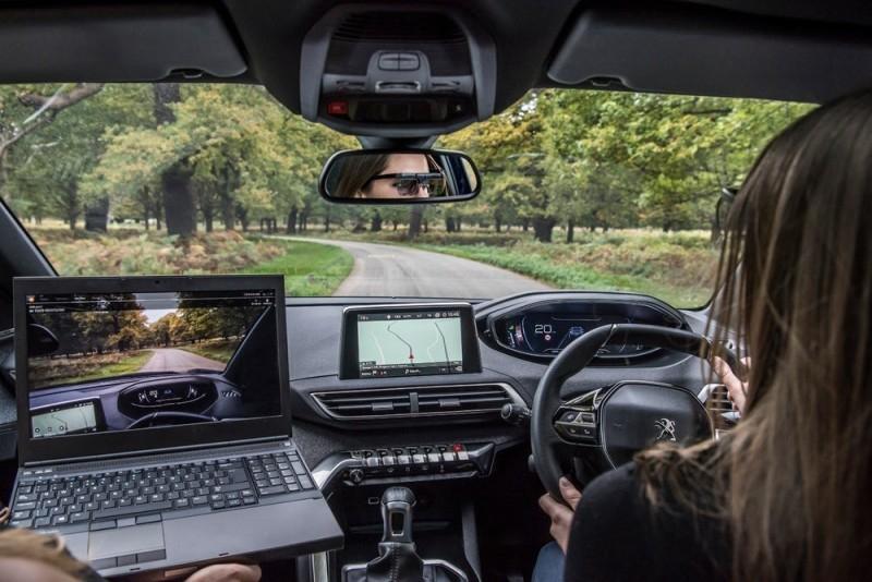 Peugeot проследит за вашими глазами, чтобы не отвлекались от дороги