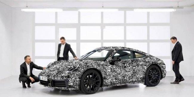 Новый Porsche 911: первые официальные фотографии