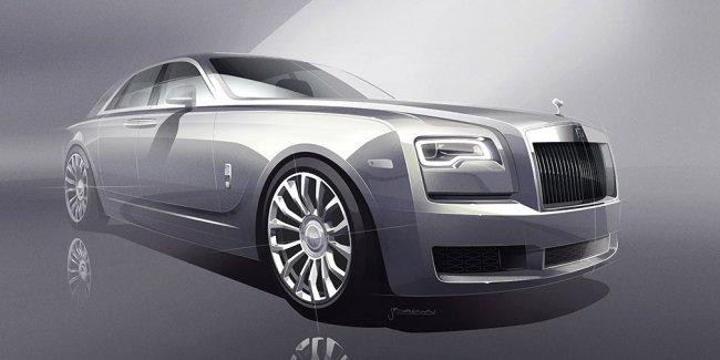 Седан Rolls-Royce Ghost получит спецверсию в честь автомобиля 1907 года