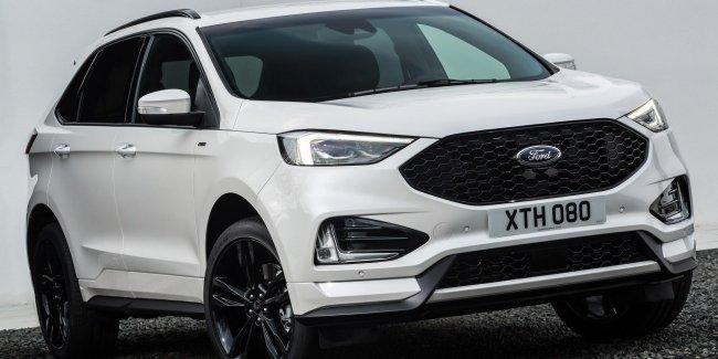Ford представил обновлённый кроссовер Edge для Европы