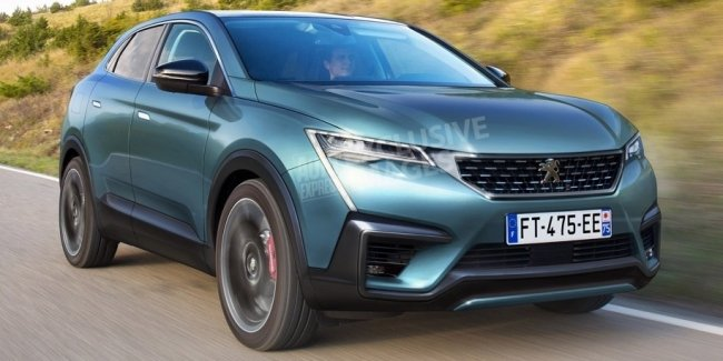 Peugeot построит купеобразный кроссовер 4008