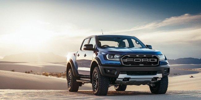 Ford построил экстремальный пикап Ranger с 28-сантиметровым клиренсом