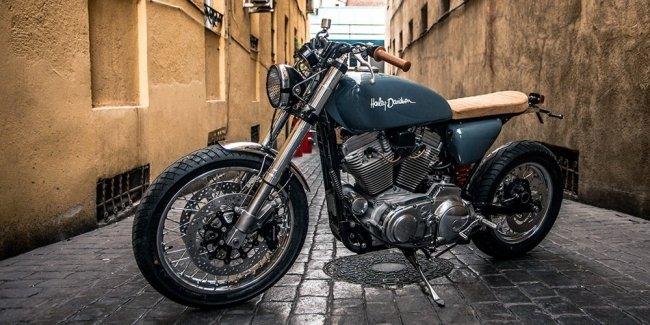 XTR Pepo: кастом Harley-Davidson Sportster XL883