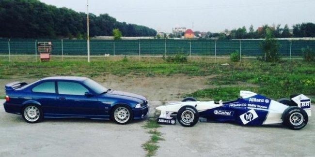 Уникальные фото единственного в Украине болида Формулы 1