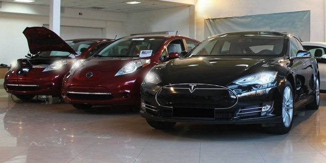 В Украине зафиксирован рекордный рост продаж электромобилей