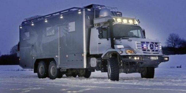Вездеход Mercedes-Benz идеально подойдет для украинских зим
