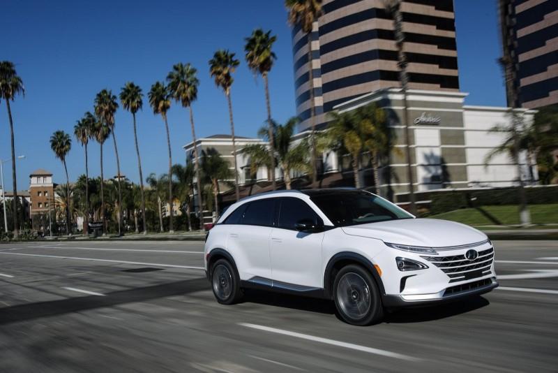 Водородный 2019 Hyundai Nexo запустили в продажу в Корее