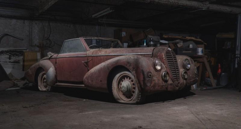 Находка дня: в подземном гараже Манхэттена обнаружили уникальные машины