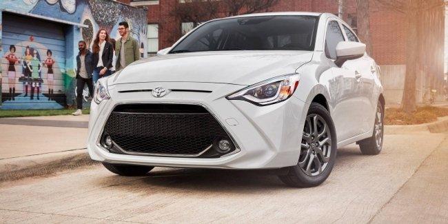 Седан Toyota Yaris обновился и сменил название