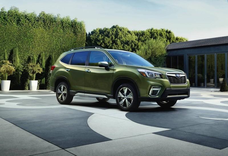 Новый 2019 Subaru Forester представили в Нью-Йорке