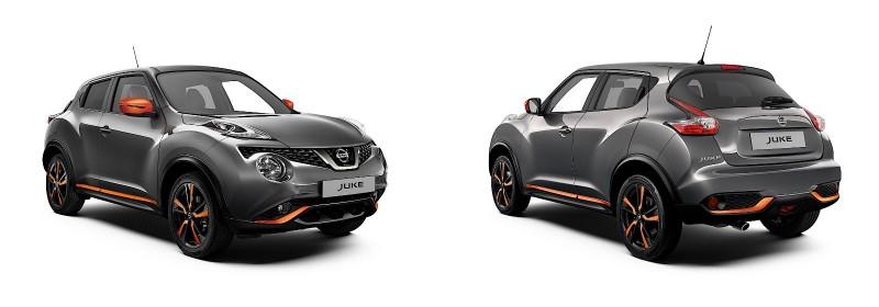 Nissan Juke обновился для 2018 модельного года