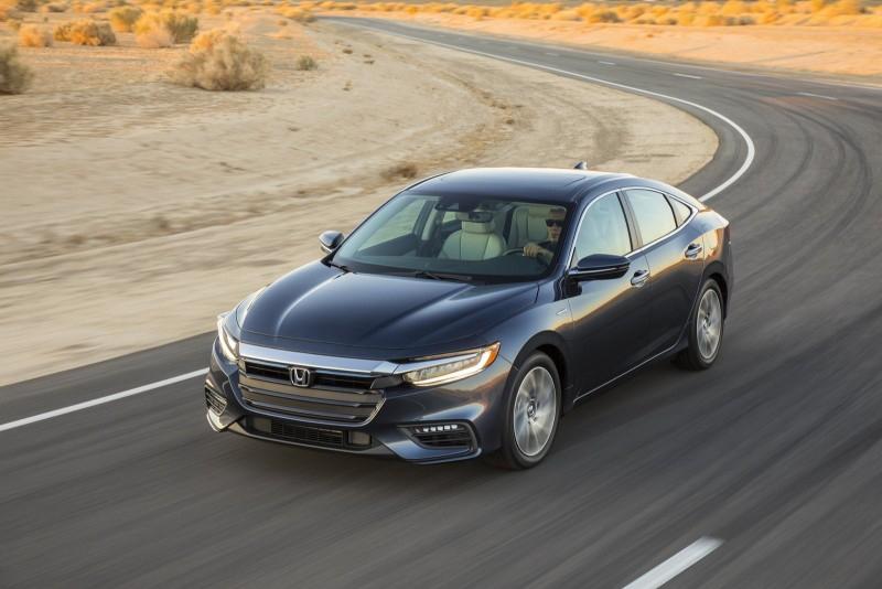Новую 2018 Honda Insight показали не дожидаясь Нью-Йоркского дебюта